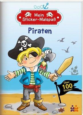 Mein Sticker-Malspaß. Piraten