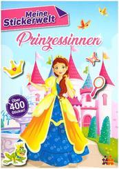 Meine Stickerwelt - Prinzessinnen