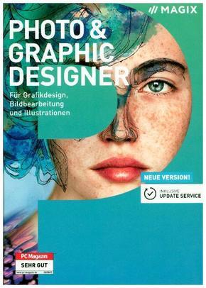 MAGIX Photo & Graphic Designer, 1 DVD-ROM