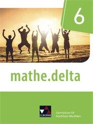 mathe.delta, Ausgabe Nordrhein-Westfalen (G9): 6. Schuljahr, Schülerband; Volume 1