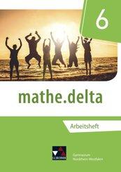 mathe.delta, Ausgabe Nordrhein-Westfalen (G9): 6. Schuljahr, Arbeitsheft