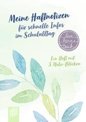 """Meine Haftnotizen für schnelle Infos im Schulalltag """"live - love - teach"""""""