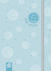 """Mein Mini-Notizbuch A6 """"live - love - teach""""- Edition Kringel"""