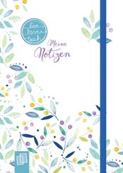 "Mein Mini-Notizbuch A6 ""live - love - teach""- Edition Blumen"