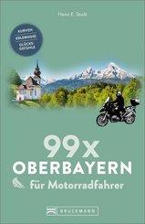 99 x Oberbayern für Motorradfahrer