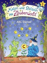 Malen und Rätseln im Zauberwald - ABC-Rätsel