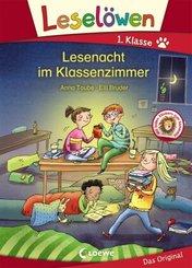 Leselöwen - Lesenacht im Klassenzimmer