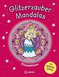 Glitzerzauber-Mandalas - Prinzessinnen