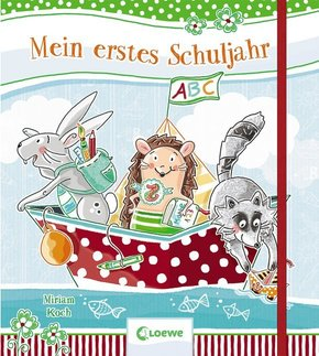 Mein erstes Schuljahr - Erinnerungsbuch für Kinder
