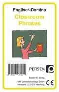 Englisch-Domino: Classroom Phrases (Kartenspiel)