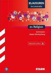 Klausuren für Lehrkräfte evangelische Religion Baden-Württemberg