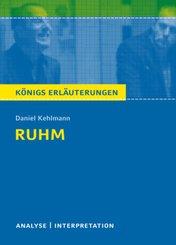 Daniel Kehlmann 'Ruhm'