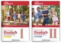 Anschluss finden Deutsch - Das Übungsheft / Vorkurs Teil I und II, 2 Bde.