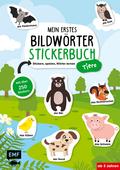 Mein erstes Bildwörter-Stickerbuch - Tiere