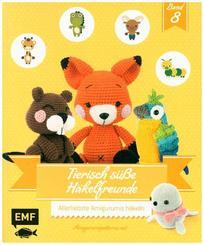 Tierisch süße Häkelfreunde - Bd.8
