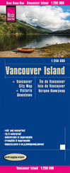 Reise Know-How Landkarte Vancouver Island (1:250.000)