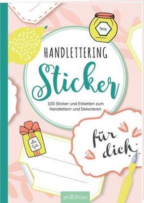 Handlettering-Sticker