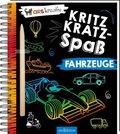 Kritzkratz-Spaß Fahrzeuge, m. Stift