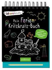 Mein Ferien-Kritzkratz-Buch, m. Stift