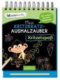 Mein Kritzkratz-Ausmalzauber Kritzelspaß, m. Stift
