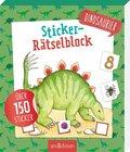 Sticker-Rätselblock Dinosaurier