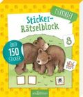 Sticker-Rätselblock Tierkinder