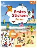 Erstes Stickern Ferien