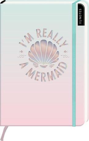 Notizbuch - I'm really a mermaid