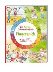Das Krippen-Jahreszeitenbuch - Fingerspiele