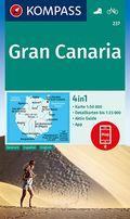 KOMPASS Wanderkarte Gran Canaria