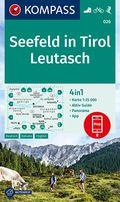 KOMPASS Wanderkarte Seefeld in Tirol, Leutasch