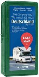 EASY MAP Das Camping- und Wohnmobil Kartenset Deutschland