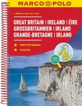 MARCO POLO Reiseatlas Großbritannien, Irland 1:300 000; Great Britain, Ireland, Éire / La Grande-Bretagne, Irlande