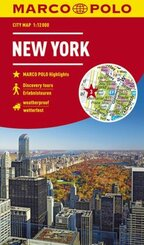 New York City Marco Polo City Map