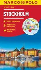 MARCO POLO Cityplan Stockholm 1:12 000