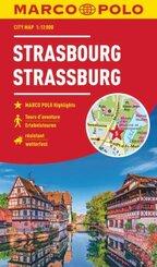 MARCO POLO Cityplan Straßburg 1:12 000