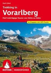 Rother Wanderführer Trekking in Vorarlberg