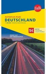 Falk AutoAtlas PLUS Deutschland 1:300 000