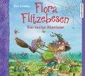 Flora Flitzebesen - Vier hexige Abenteuer, 8 Audio-CDs