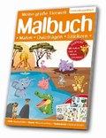 Meine große Tierwelt Malbuch: Lebensraum Savanne