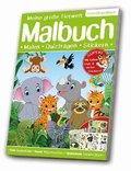 Meine große Tierwelt Malbuch: Lebensraum Dschungel