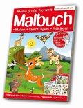 Meine große Tierwelt Malbuch: Lebensraum Europa