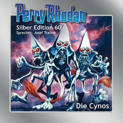 Perry Rhodan Silber Edition - Die Cynos, 15 Audio-CDs