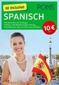 PONS All Inclusive Spanisch, m. 3 Audio+MP3-CDs