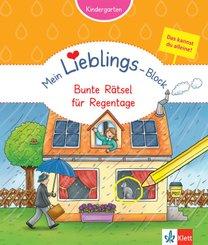 Mein Lieblings-Block - Bunte Rätsel für Regentage