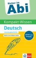 Kompakt-Wissen Deutsch Literaturgeschichte