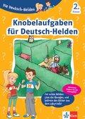 Die Deutsch-Helden Knobelaufgaben für Deutsch-Helden 2. Klasse