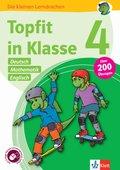 Topfit in Klasse 4 - Deutsch, Mathematik und Englisch