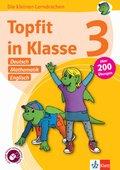 Topfit in Klasse 3 - Deutsch, Mathematik und Englisch
