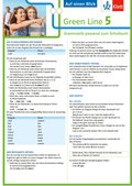 Green Line, Bundesausgabe ab 2014: Klett Green Line 5 G8 Klasse 9 Auf einen Blick; .5